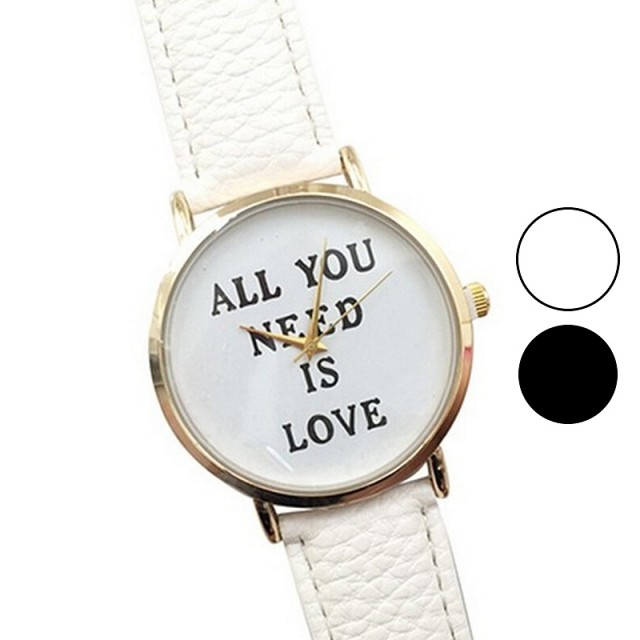 Ura All you need is love (dve barvi)